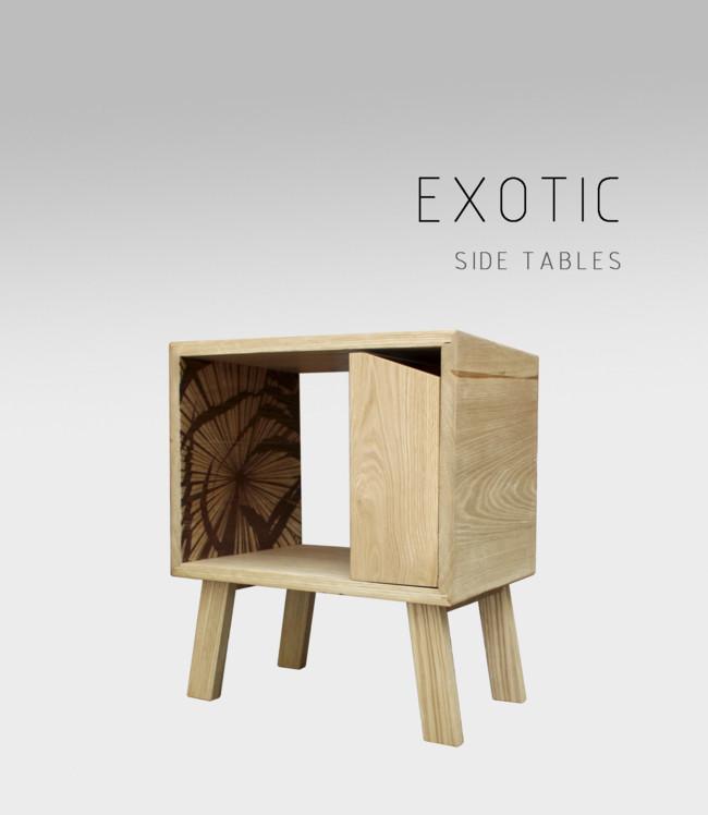 Adidea Design Intraviato Table Exotic