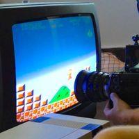 'Super Mario' a 380.000 cuadros por segundo en un viejo televisor de tubo es lo más impresionante que verán hoy