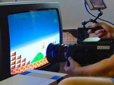 Así se ve 'Super Mario' a 380.000 cuadros por segundo en un viejo televisor de tubo
