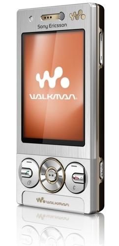 Sony Ericsson W705, gama Walkman