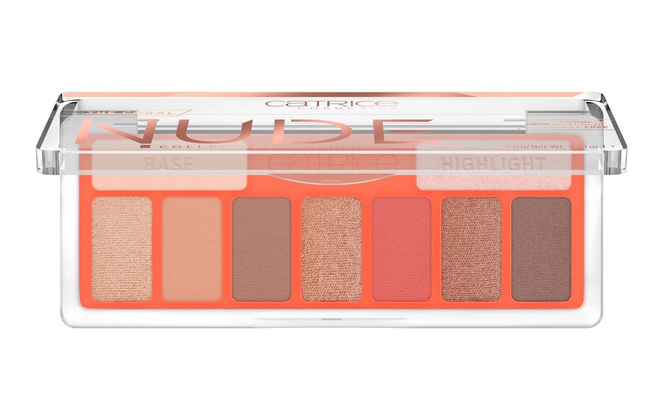 The Coral Nude Palette