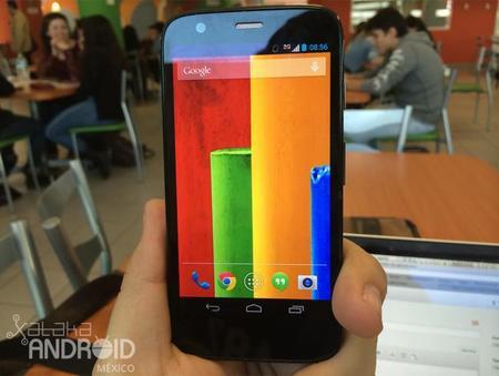 No solamente gama alta, tenemos Moto G en Google Edition