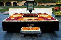 India: El Raj Ghat de Nueva Delhi