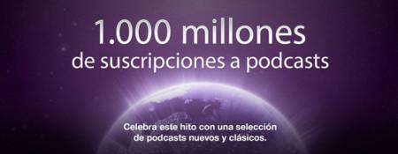 iTunes supera los 1.000 millones de suscripciones a podcasts