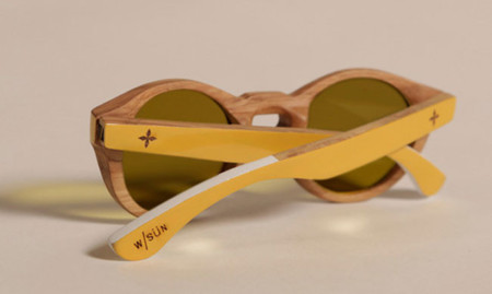 Este verano gafas de madera, las de  Commune de Paris para Waiting for the Sun