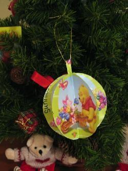 Colgante para el árbol de Navidad hecho a mano