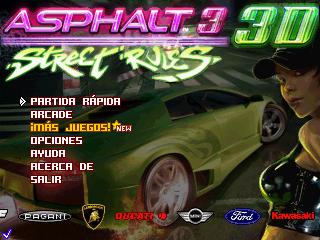A prueba: Asphalt 3 Street Rules 3D