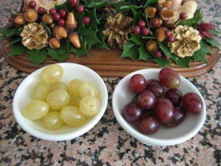 Ideas para preparar con los niños las uvas de fin de año