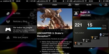 Sony PlayStation iOS
