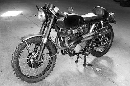 La moto de Lisbeth Salander