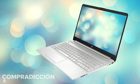 Este equilibrado portátil con procesador Ryzen 3 ahora cuesta 80 euros menos en Amazon: llévate el HP 15s-eq1072ns por 369,99 euros antes del Prime Day