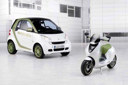 Smart eScooter, las primeras imágenes ya están aquí