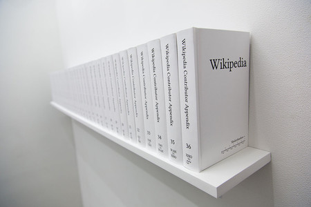 Print Wikipedia By Michael Mandiberg Nyc June 18 2015 34
