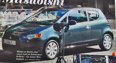 Sabor a Lancer para el restyle del Mitsubishi Colt