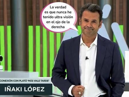 Este es el motivo por el que Iñaki López ha desaparecido de las tardes de La Sexta: un problema de salud le deja fuera de 'Más vale tarde'