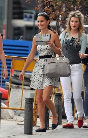 Pippa Middleton de visita por Madrid