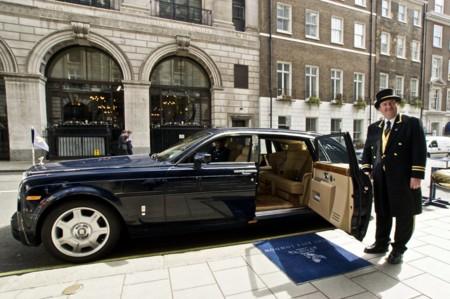 Rolls-Royce Phantom Hotel Ritz London