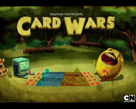 Hora de Aventuras hace realidad uno de sus capítulos con el juego Guerra de Cartas