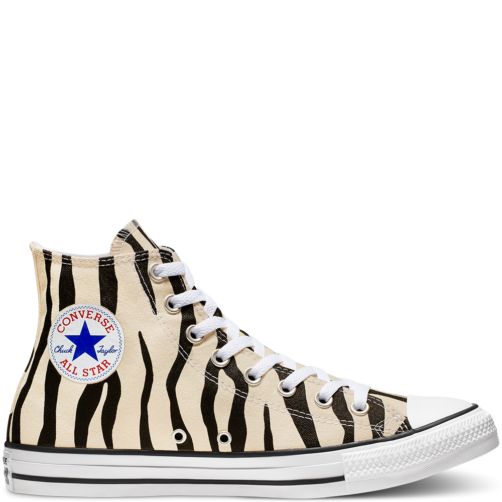 Archive Print Chuck Taylor All Star High Top unisex