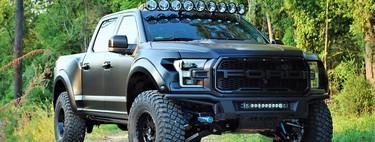 La Ford F-150 Raptor by PaxPower con sus 758 hp  te costará un millón menos que la Hennessey Velociraptor
