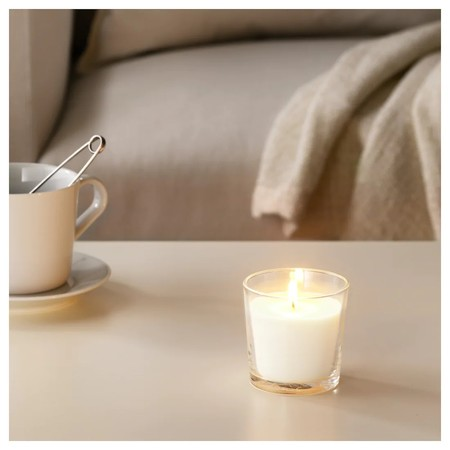 Sinnlig Scented Candle In Glass Sweet Vanilla Natural 0499298 Pe630196 S5