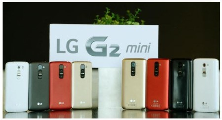 LG G2 mini, ya disponible en España por 349 euros