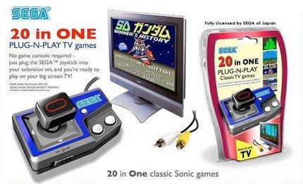Clásicos de Sega reeditados y dispositivo portátil