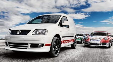 Volkswagen Caddy Carrera Cup Edition 2.0 TDI R: vuelve La Furgoneta Blanca™