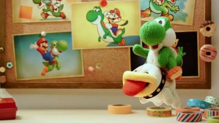 Diversión y plataformas 'Made in Nintendo' en el nuevo tráiler de Poochy & Yoshi's Woolly World