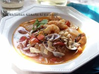 Receta de arroz caldoso con coquinas
