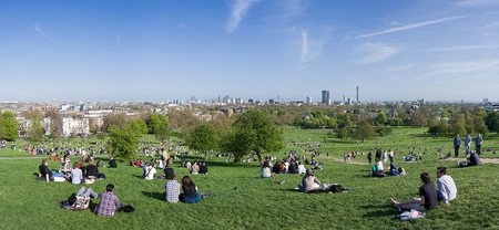 1280px Primrose Hill Panorama London April 2011