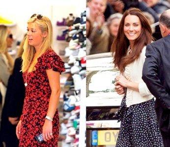 Chelsy Davy, la novia del príncipe Harry, tras los pasos (y nunca mejor dicho) de Kate Middleton