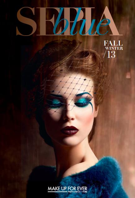 Lo nuevo de Make Up For Ever para este otoño se llama Blue Sepia