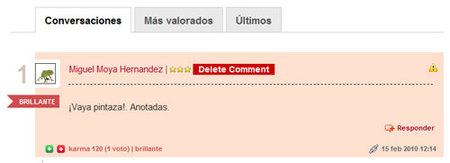 Nuevo sistema de comentarios en Directo al Paladar