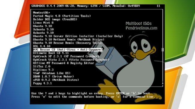 MultibootISOs, para crear memorias USB multiarranque desde Windows