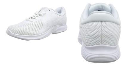 100% blancas y rebajadas a 39,95 euros: Amazon nos ofrece las zapatillas Revolution 4 de Nike en amplia variedad de tallas