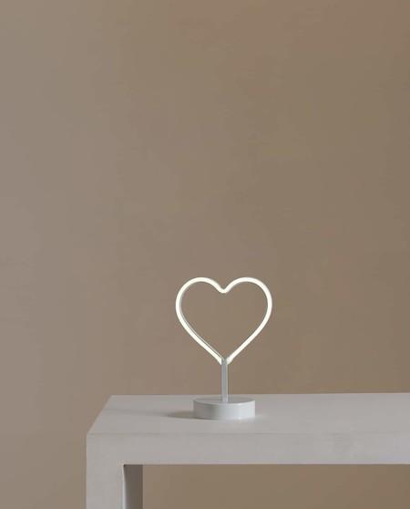 lampara corazon
