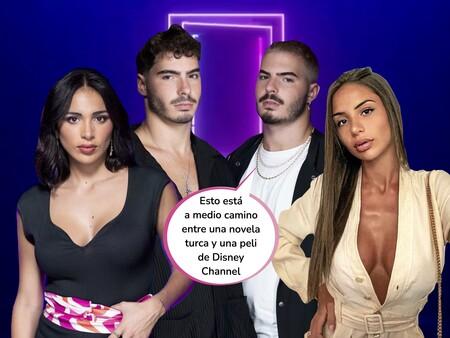 El dos para dos previo a 'Secret Story': los Gemeliers (Jesús y Daniel) se liaron con Sandra Pica y su hermana Gigi antes de entrar en 'La casa de los secretos'