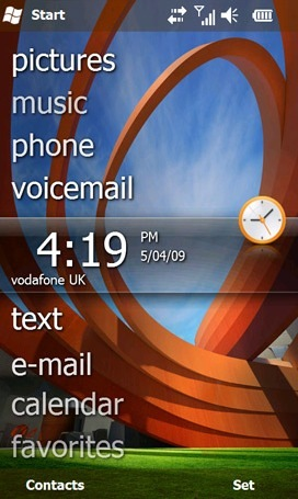 Foto de Windows Mobile 6.5 temas (1/5)