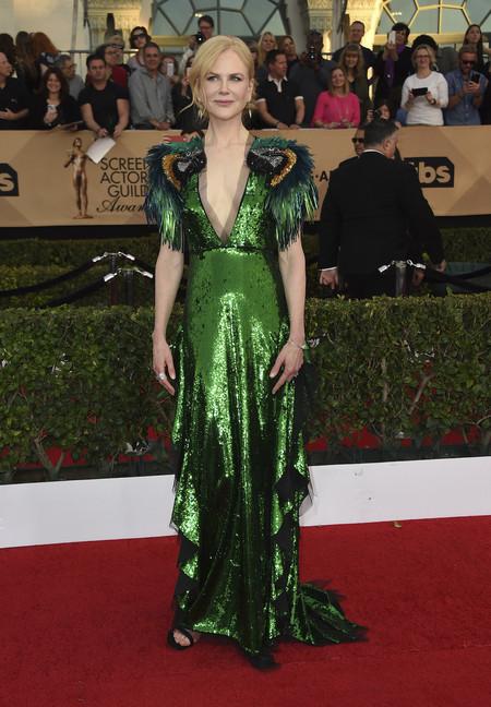 mejor vestidas 2017 alfombra roja Nicole Kidman de Gucci