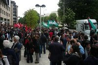 Huelga de funcionarios: pulso para la huelga general