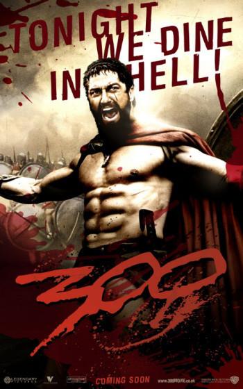 Nuevos posters de la esperadísima '300'