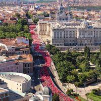 Las mejores imágenes de la Carrera de la Mujer en Madrid 2019
