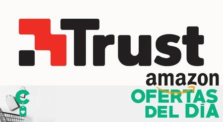 Accesorios y periféricos Trust: ratones, teclados, auriculares o altavoces rebajados sólo hoy, en Amazon