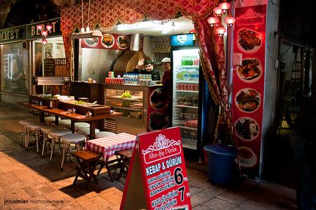 Paseando por el Gran Bazar, Estambul