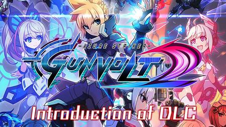 Azure Striker GUNVOLT 2 muestra en vídeo sus nuevos DLCs