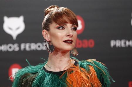 Premios Feroz 2019: Najwa Nimri y su disfraz de peluche es lo más fuerte de la red carpet
