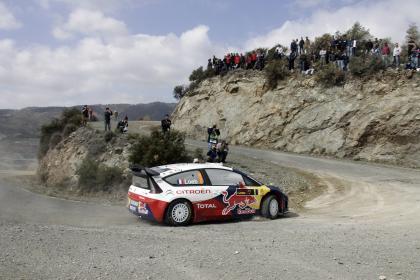 Los Citroën marcan el ritmo en el Rally de Chipre