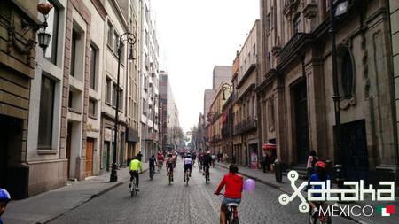 Paseo Ciclistas DF