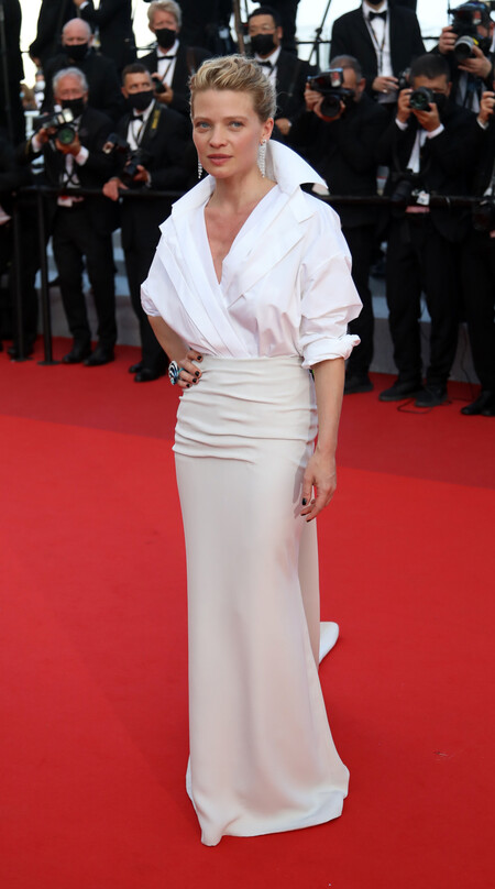 Melanie Thierry alfombra roja cannes 2021